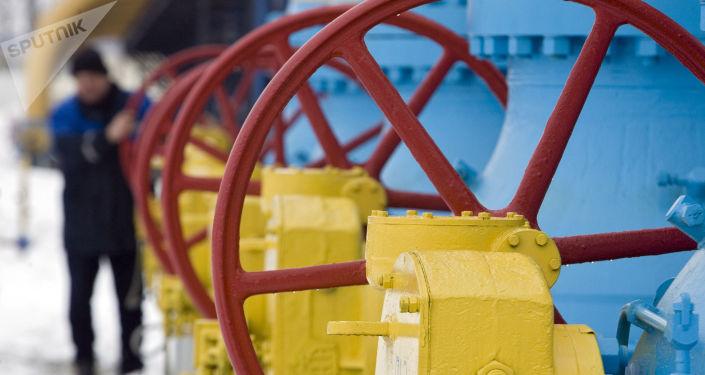 Úsek plynovodu Jamal - Evropa