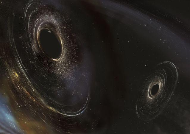 Umělecká podoba černých děr