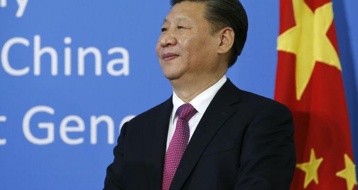 Lídr Číny Si Ťin-pching. Ilustrační foto