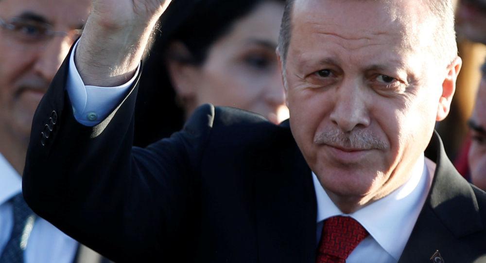 Turecký prezident Recep Tayyip Erdoğan