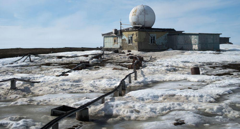 Polární stanice Ostrov Osamělost v Karském moři
