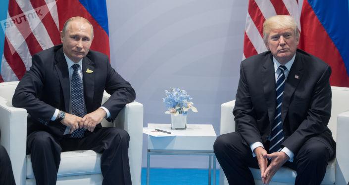 Putin a Trump