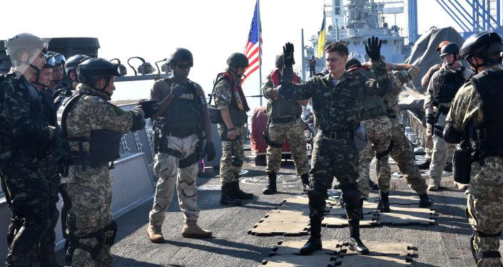 Americko-ukrajinské námořní cvičení Sea Breeze 2017