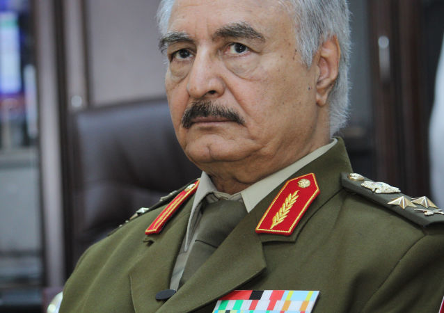 Polní maršál Chalíf Haftar
