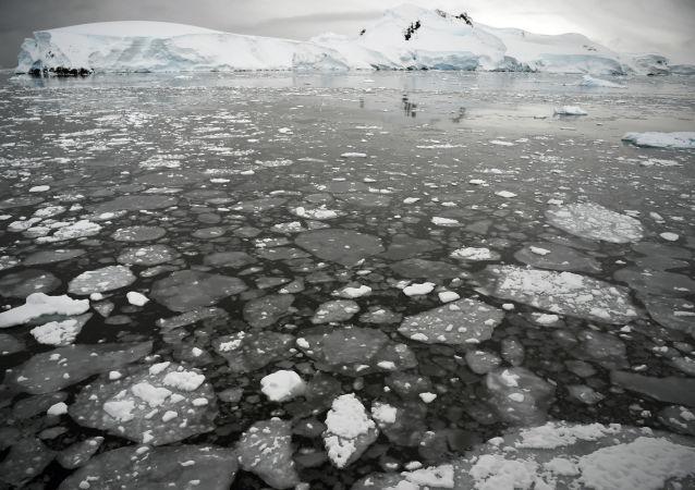 Moře u Antarktického poloostrovu