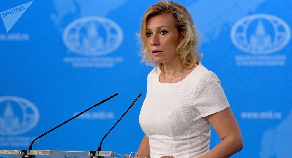 Tisková mluvčí MZV RF Maria Zacharovová