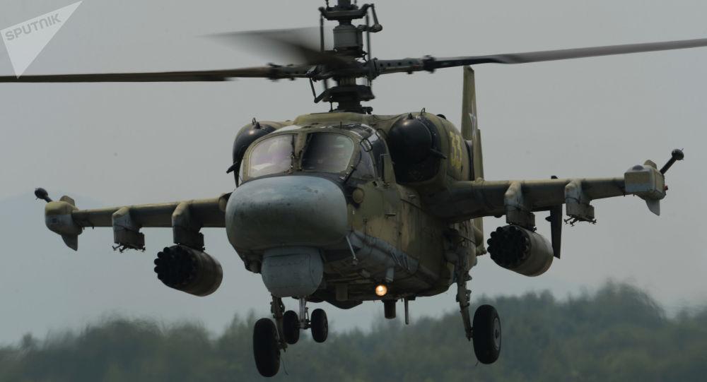 Vrtulník Ka-52 Aligátor