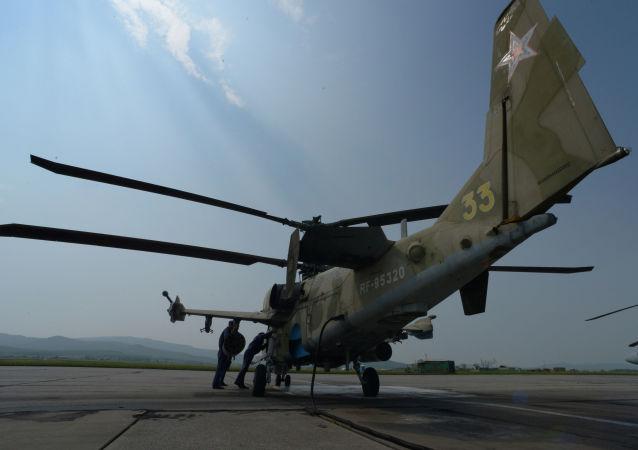 Vrtulníky Ka-52 Aligátor