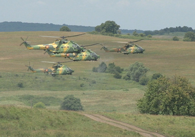 Cvičení NATO v Rumunsku