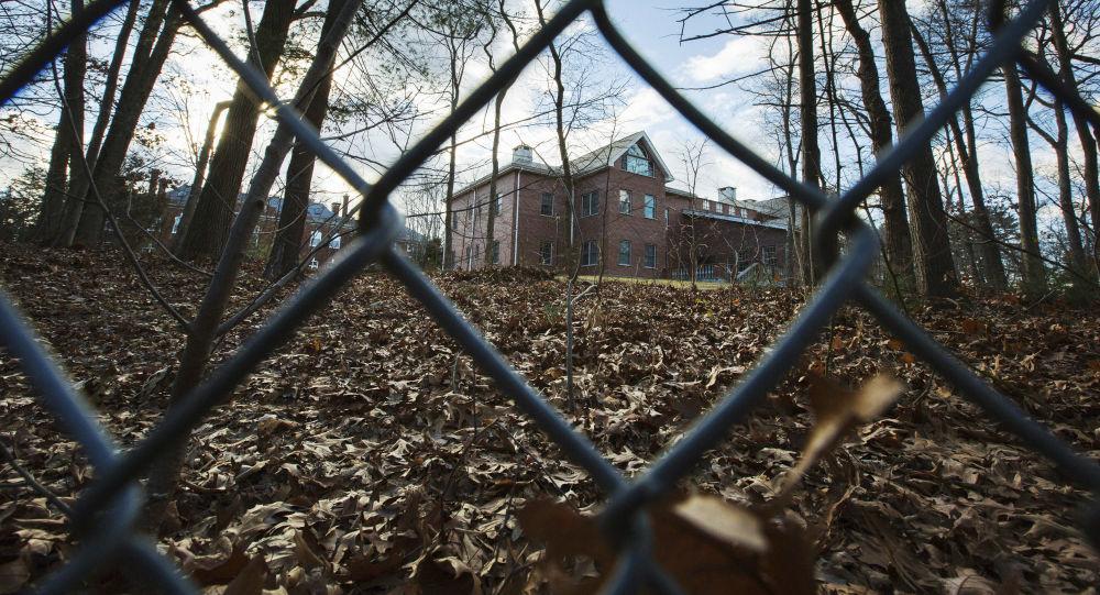 Dům v New Yorku, který patří ruským diplomatům