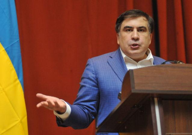 Bývalý gruzínský prezident a gubernátor Oděské oblasti Michail Saakašvili