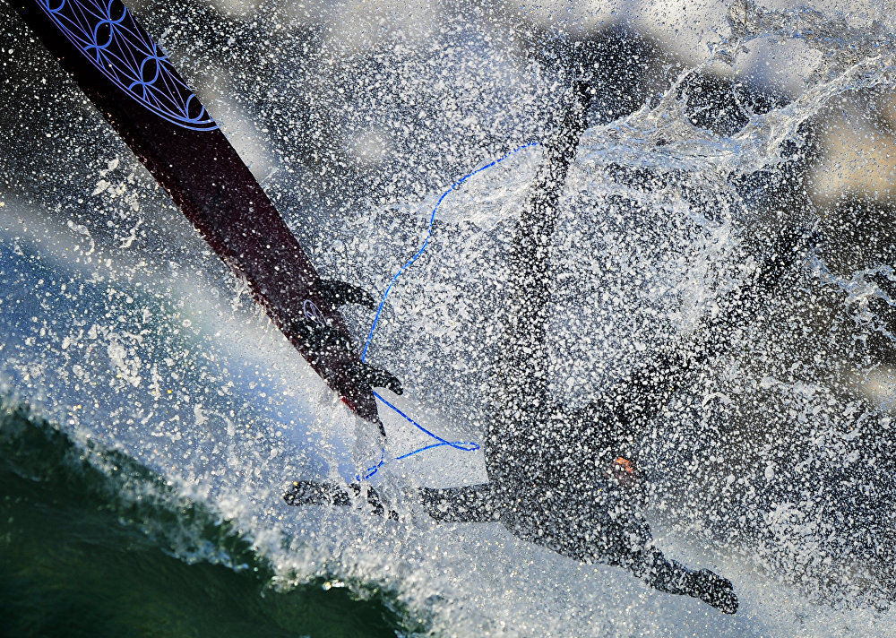 Vítr, vlny a -15°: zimní surfing na ruském pobřeží Tichého oceánu