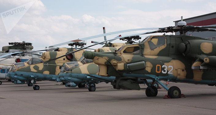 Vrtulníky Mi-28 a Mi-24