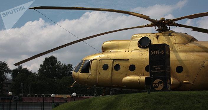 Zlatý Mi-8 na Moskevském vrtulníkový závodu Michaila Mila