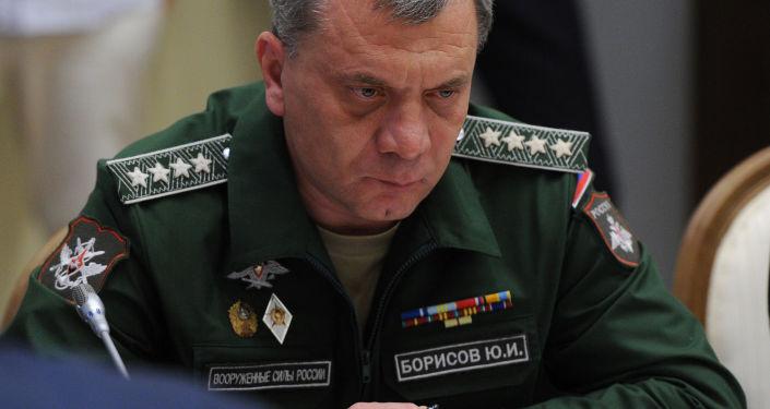 Náměstek ministra obrany Jurij Borisov