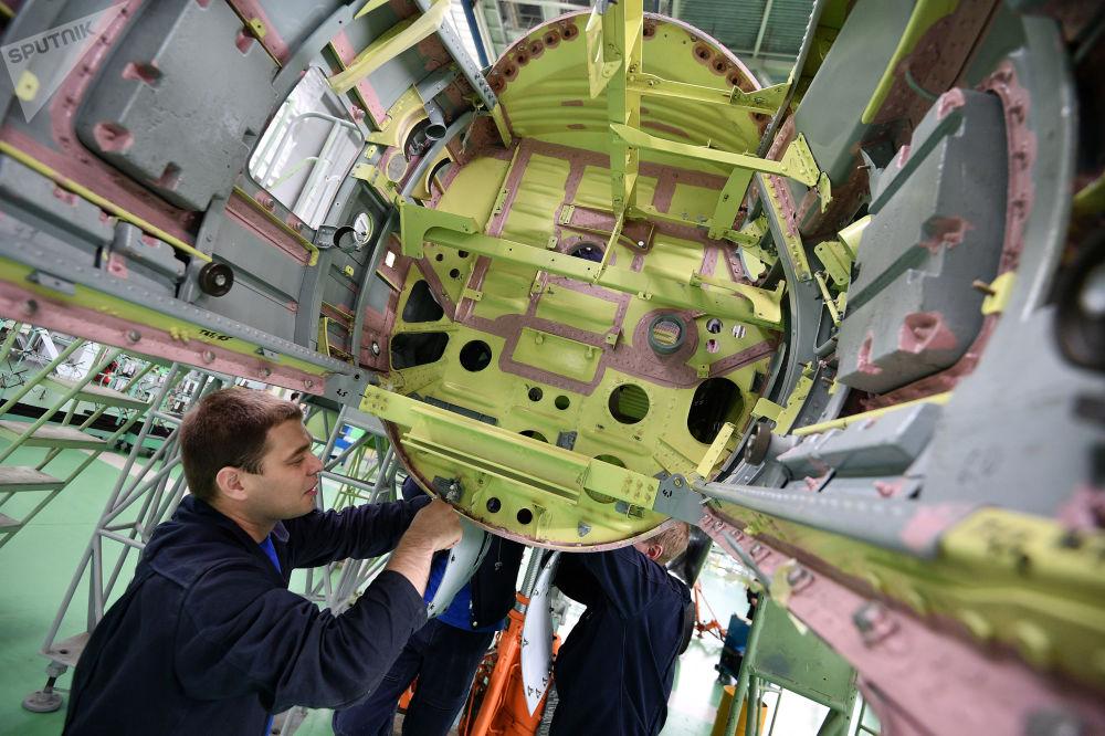 Výroba letadel MiG v Moskevské oblasti