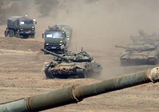 Cvičení Západního vojenského okruhu