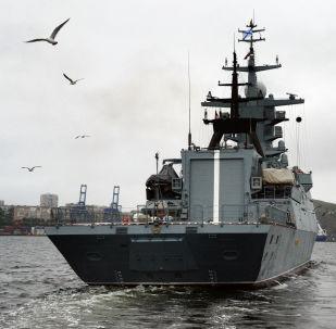 Korveta Sověršennyj: velký zisk Tichooceánské flotily