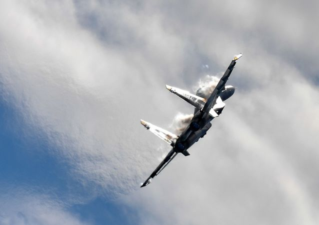 Víceúčelová frontová stíhačka MiG-35 na Mezinárodní letecké a kosmické výstavě MAKS 2017