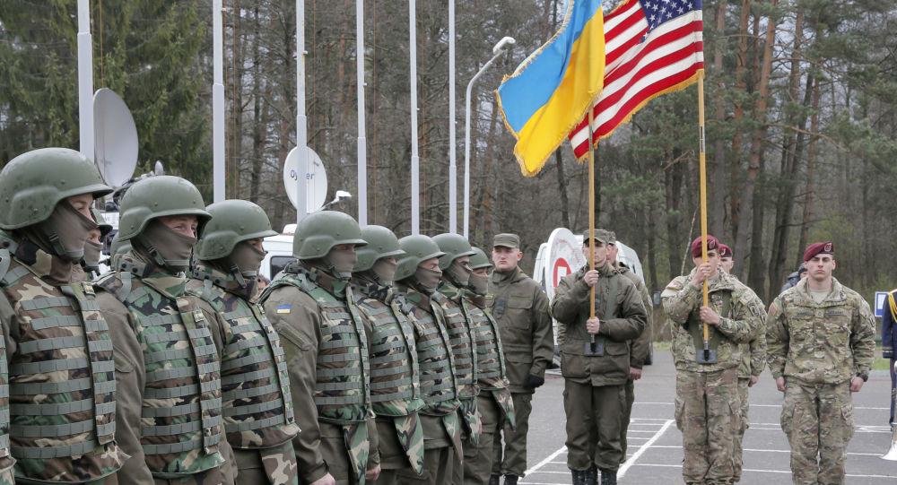 Cvičení Ukrajiny a USA. Ilustrační foto