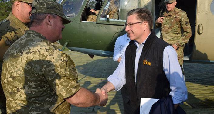 Zvláštní vyslanec USA pro Ukrajinu Kurt Volker