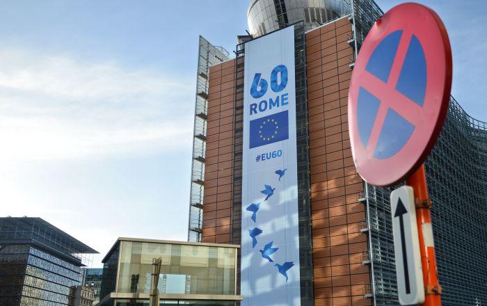 Budova Evropské komise v Bruselu