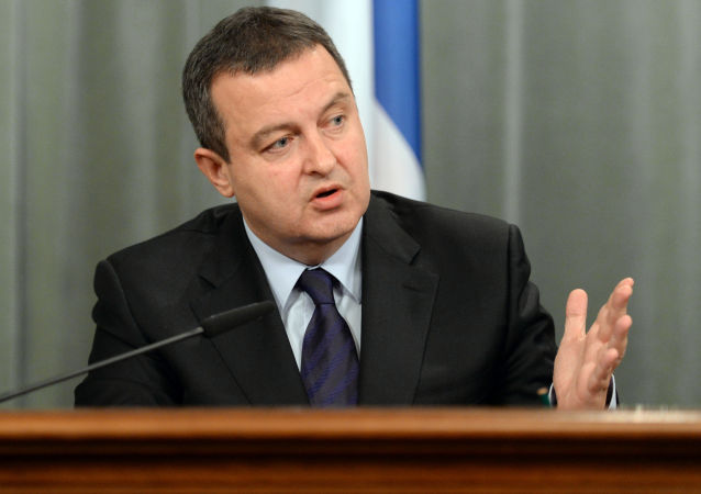Ministr zahraničí Srbska Ivica Dačič