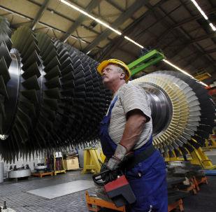 Závod Siemens v Německu