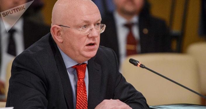 Nový stálý zástupce Ruska při OSN Vasilij Nebenzja