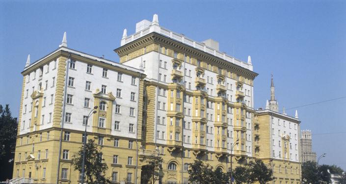Velvyslanectví USA v Moskvě