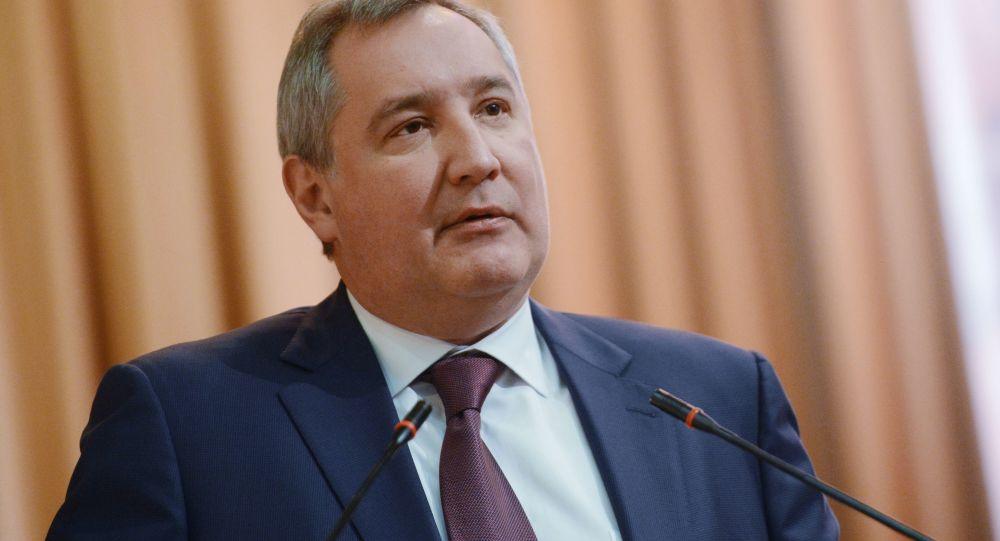 vicepremiér Dmitrij Rogozin