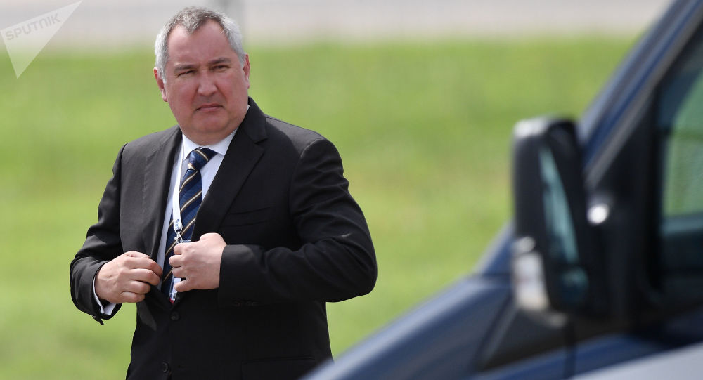 Vicepremiér RF Dmitrij Rogozin