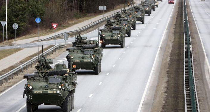 Americké obrněné transportéry Stryker