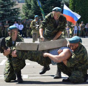Den výsadkových vojsk v ruských městech