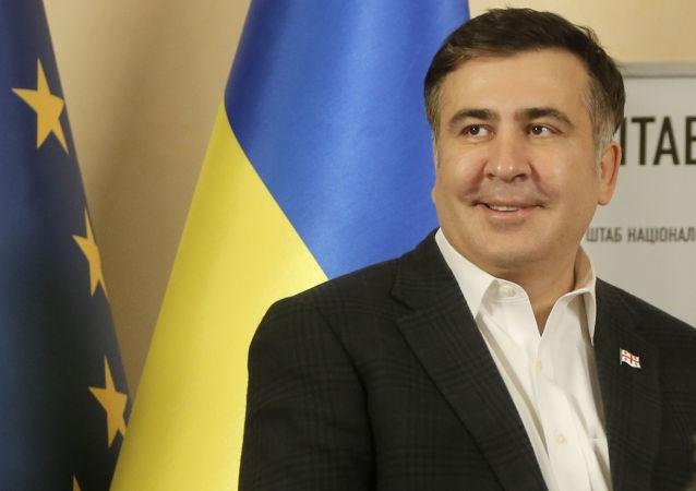 Bývalý gebernátor Oděské oblasti a bývalý prezident Gruzie Michail Saakašvili