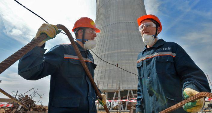 Běloruská atomová elektrárna