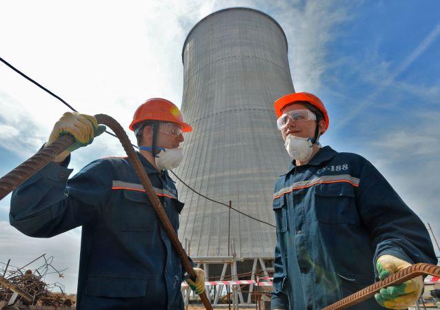 Beloruská jaderná elektrárna
