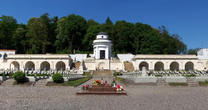 Rotunda, která je součástí Memoriálu orlat