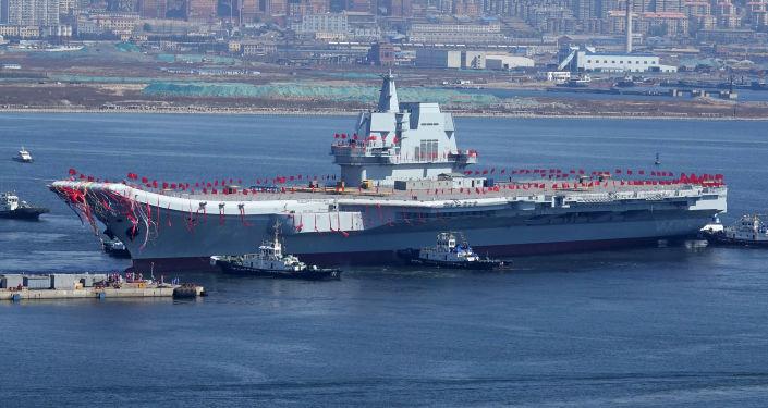 Čínská letadlová loď
