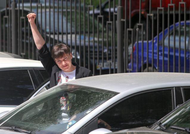 Poslankyně ukrajinského parlamentu Naděžda Savčenková