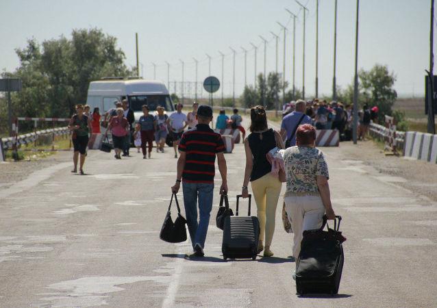 Hranice Krymu a Ukrajiny