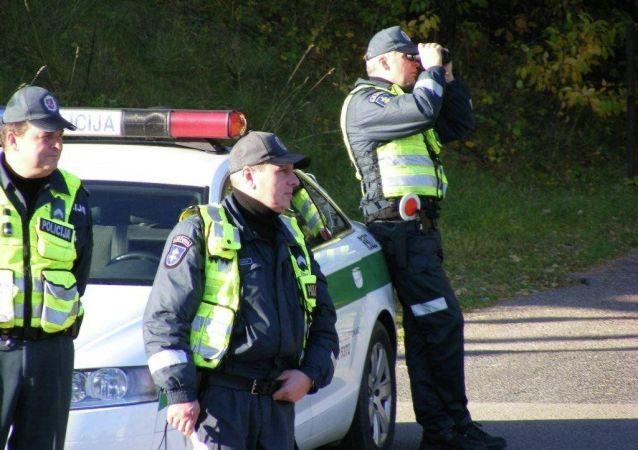 Litevští policisté
