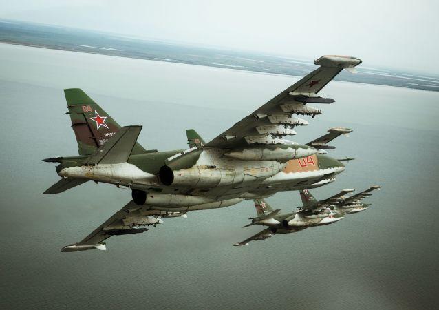 Ruský letoun Su-25SM3