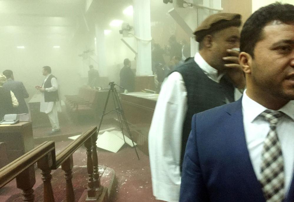 Útok na parlament v Kábulu