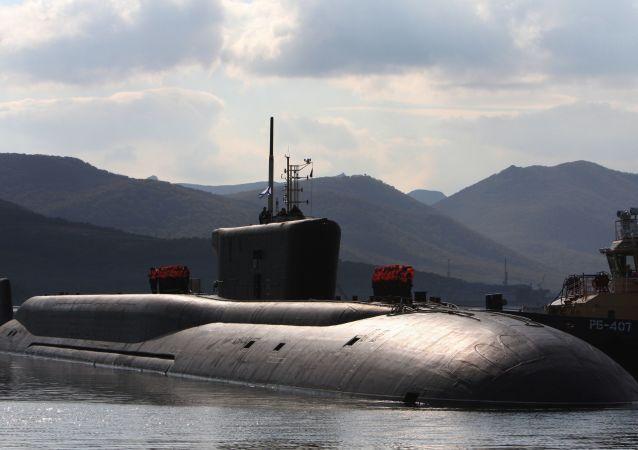 Ruská ponorka Vladimir Monomach