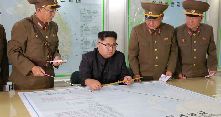 Severokorejský lídr Kim Čong-un