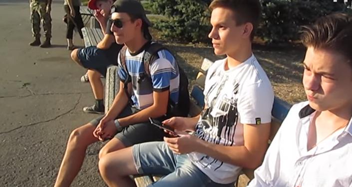 Studenti odmítli povstat během ukrajinské hymny