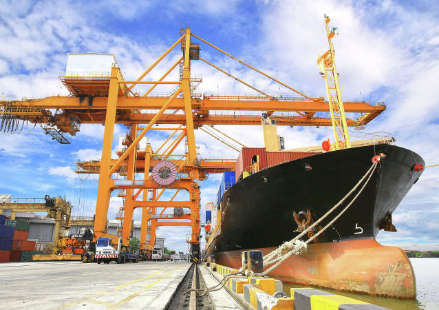 Obchodní loď. Ilustrační foto