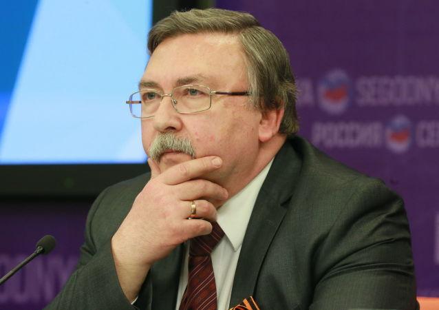 Ředitel departamentu pro otázky nešíření a kontroly zbraní MZV RF Michail Uljanov