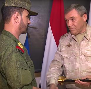 Generální štáb RF vyznamenal syrského generála za výsadek do týlu IS